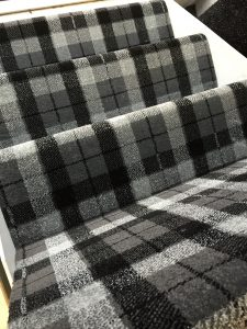 Black and Silver Tartan, now with 25% off!